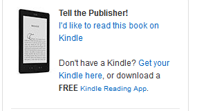 Request for Kindle edition- off Amazon page